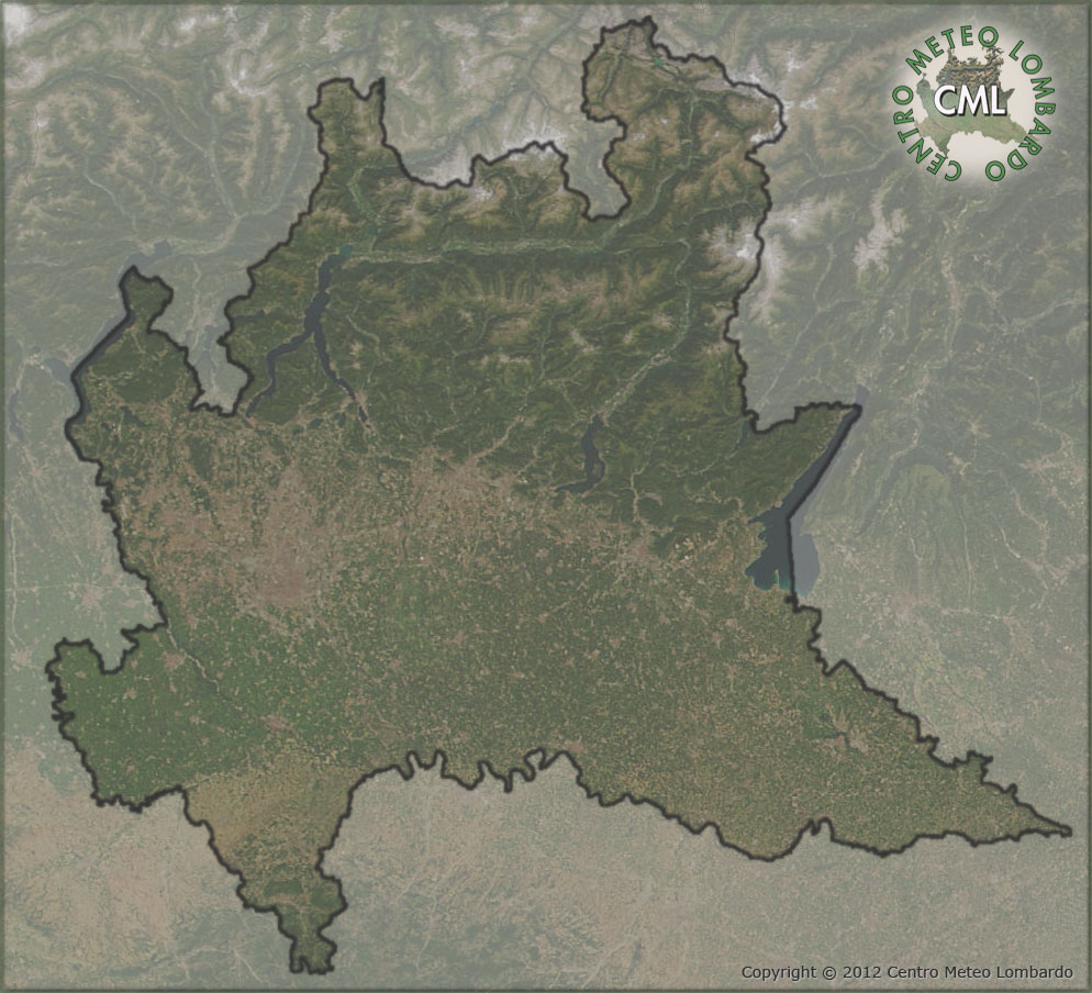 Cartina Dati Lombardia.Cartina Dati In Diretta Centro Meteorologico Lombardo C