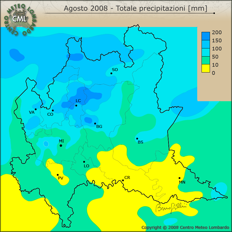 Cartina Dati Lombardia.Cml Mappe